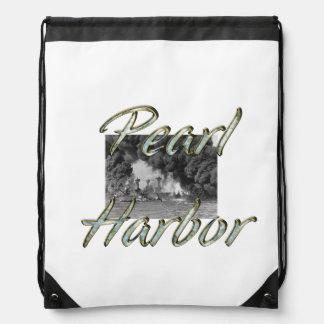 ABH Pearl Harbor Drawstring Backpack