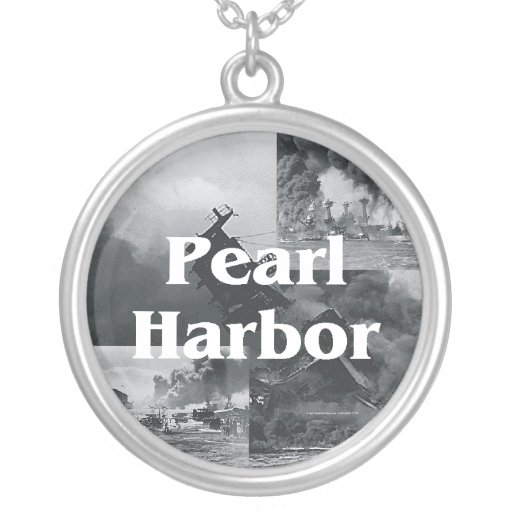 ABH Pearl Harbor Round Pendant Necklace