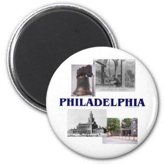 ABH Philadelphia 2 Inch Round Magnet