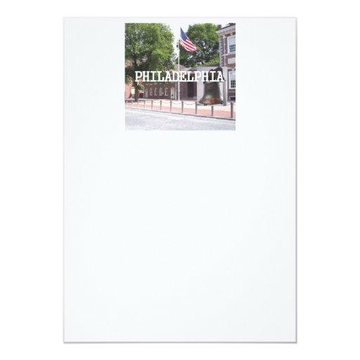 ABH Philadelphia 5x7 Paper Invitation Card