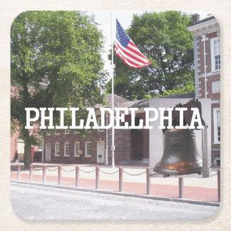 ABH Philadelphia Square Paper Coaster