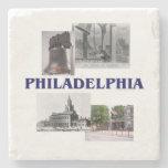 ABH Philadelphia Stone Coaster