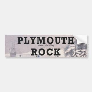 ABH Plymouth Rock Pegatina De Parachoque