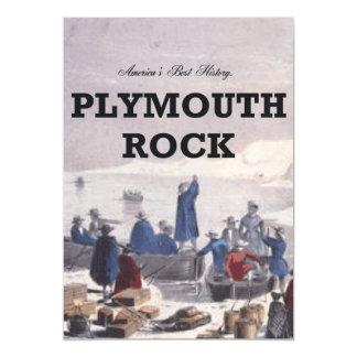 ABH Plymouth Rock Invitaciones Magnéticas