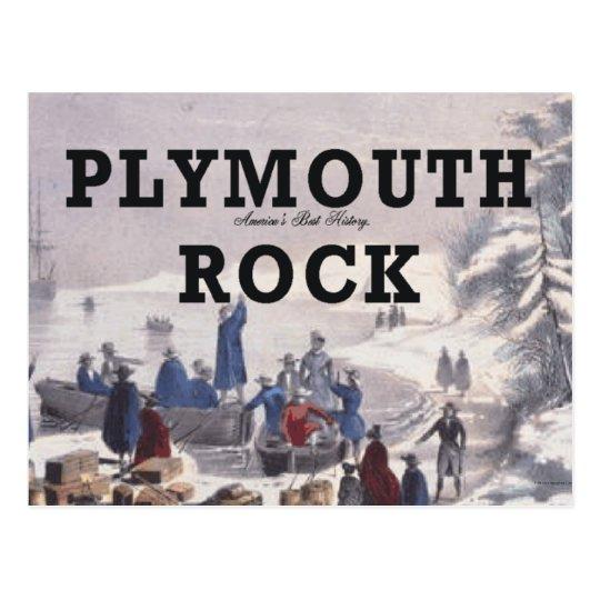 ABH Plymouth Rock Postcard