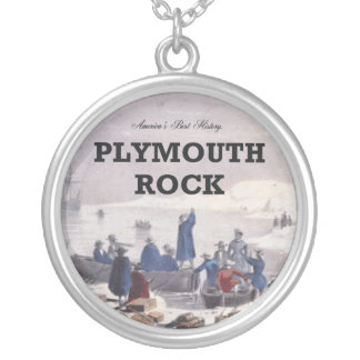 ABH Plymouth Rock Silver Plated Necklace