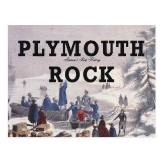 ABH Plymouth Rock Tarjeta Postal