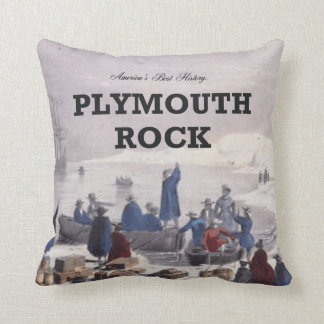 ABH Plymouth Rock Throw Pillow