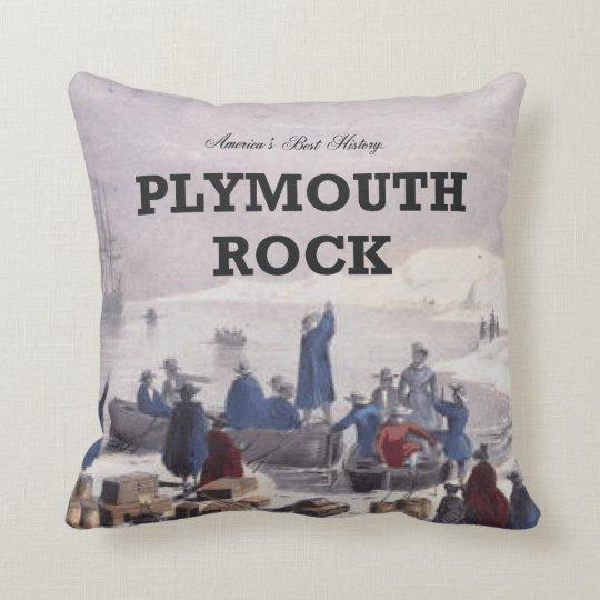 ABH Plymouth Rock Throw Pillow
