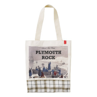 ABH Plymouth Rock Zazzle HEART Tote Bag