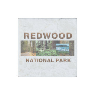 ABH Redwood Stone Magnet