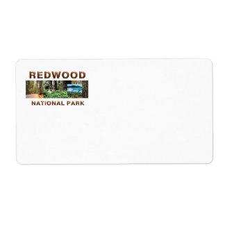 ABH Redwood Label