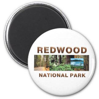 ABH Redwood Refrigerator Magnets