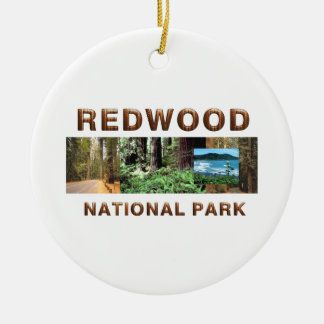 ABH Redwood Christmas Ornament