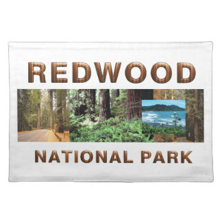 ABH Redwood Cloth Placemat