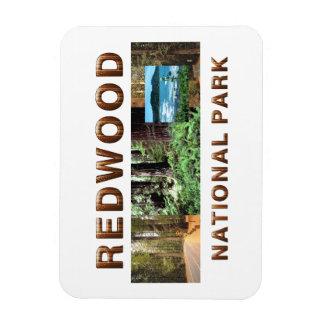 ABH Redwood Rectangular Photo Magnet