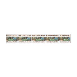 ABH Redwood Wrap Around Address Label