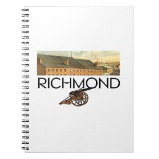 ABH Richmond Spiral Notebook