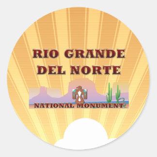 ABH Rio Grande del Norte Classic Round Sticker