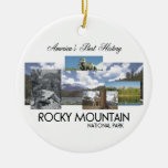 ABH Rocky Mountain NP Christmas Ornaments
