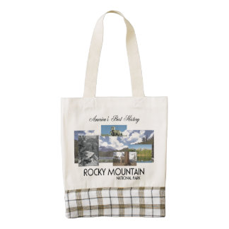 ABH Rocky Mountain NP Zazzle HEART Tote Bag
