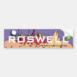 ABH Roswell Bumper Stickers