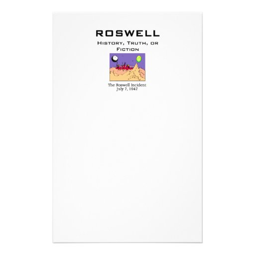 ABH Roswell Customized Stationery