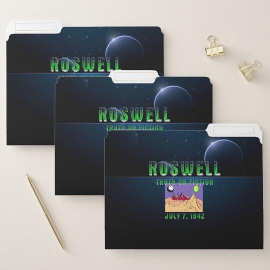 Roswell File Folder