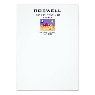 "ABH Roswell Invitación 5"" X 7"""