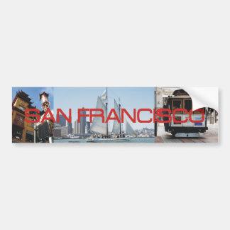 ABH San Francisco Car Bumper Sticker