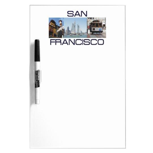 ABH San Francisco Dry Erase Board