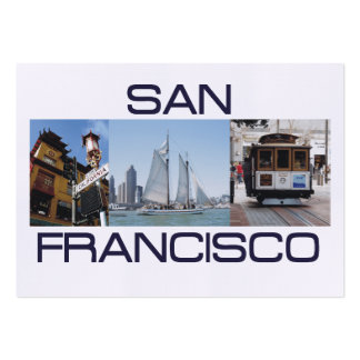 ABH San Francisco Large Business Card