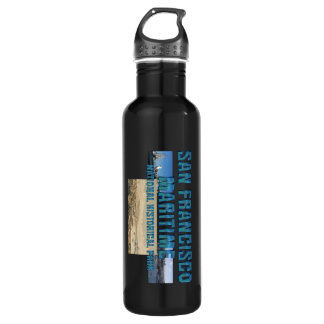 ABH San Francisco Maritime Stainless Steel Water Bottle