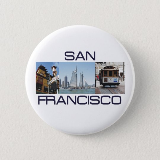 ABH San Francisco Pinback Button