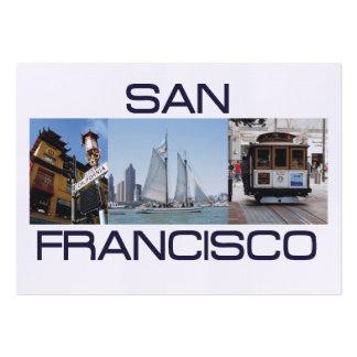 ABH San Francisco Plantilla De Tarjeta De Negocio