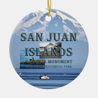 ABH San Juan Islands Ceramic Ornament