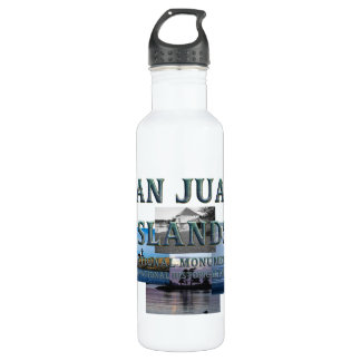 ABH San Juan Islands Stainless Steel Water Bottle