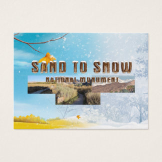 ABH Sand to Snow NM Business Card