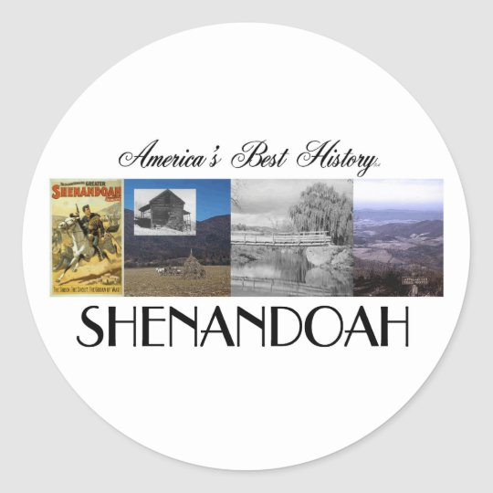 ABH Shenandoah Classic Round Sticker