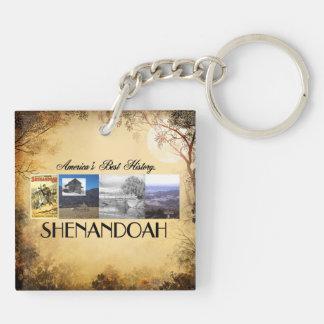 ABH Shenandoah Double-Sided Square Acrylic Keychain