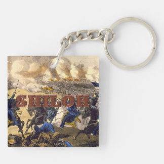ABH Shiloh Double-Sided Square Acrylic Keychain