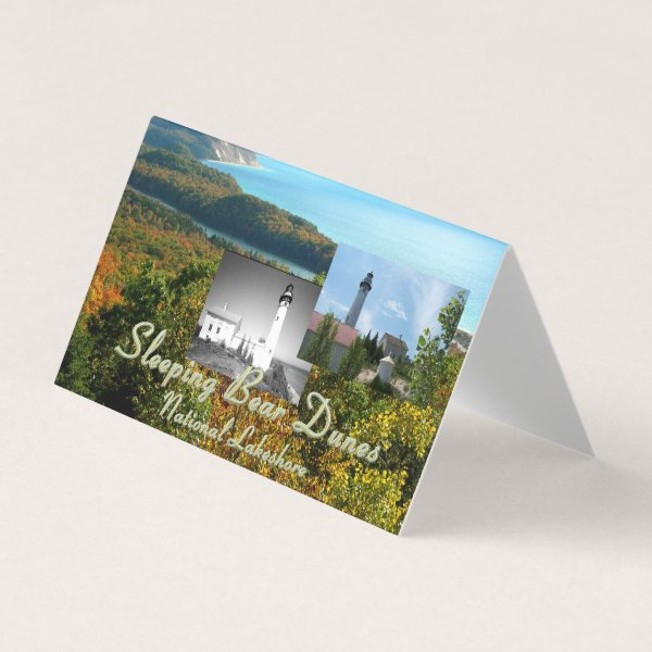 ABH Sleeping Bear Dunes Business Card