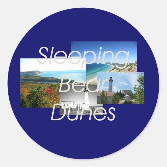ABH Sleeping Bear Dunes Classic Round Sticker
