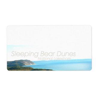 ABH Sleeping Bear Dunes Shipping Label