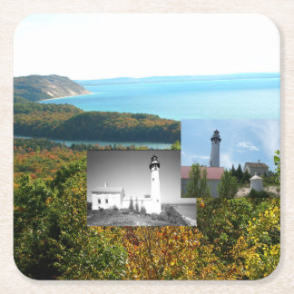 ABH Sleeping Bear Dunes Square Paper Coaster