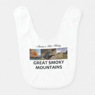 ABH Smoky Mountains Baby Bib