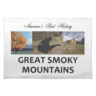 ABH Smoky Mountains Cloth Placemat