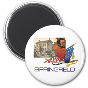 Springfield and Lincoln T-Shirts and Souvenirs