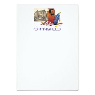 ABH Springfield 5x7 Paper Invitation Card