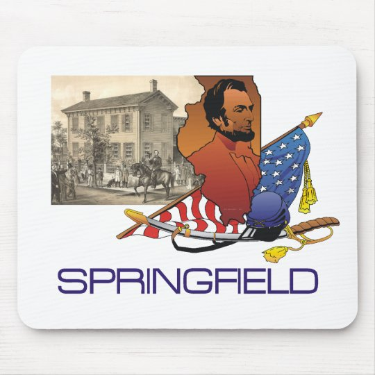 ABH Springfield Mouse Pad